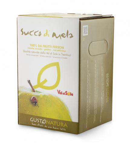 Succo di mela in Bag in Box